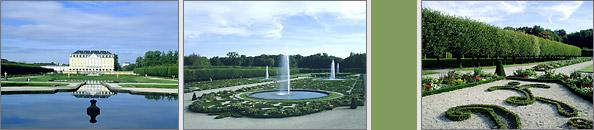 Die Gärten von Schloss Augustusburg