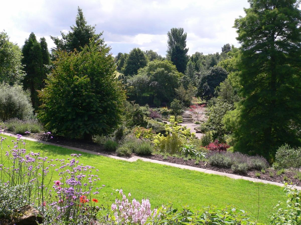 Eghn ness botanic gardens for Botanical garden designs