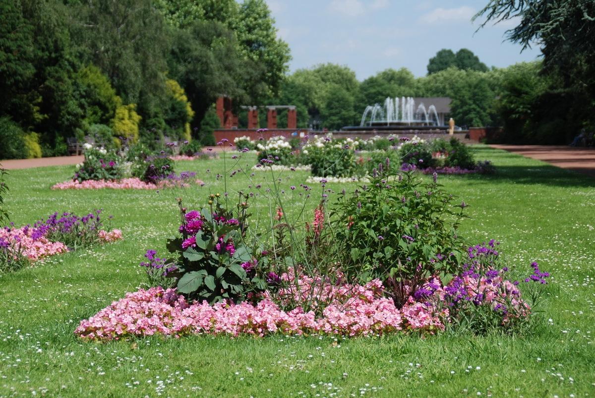EGHN – Le «Nordpark Düsseldorf» (parc du nord) – l\'art ...