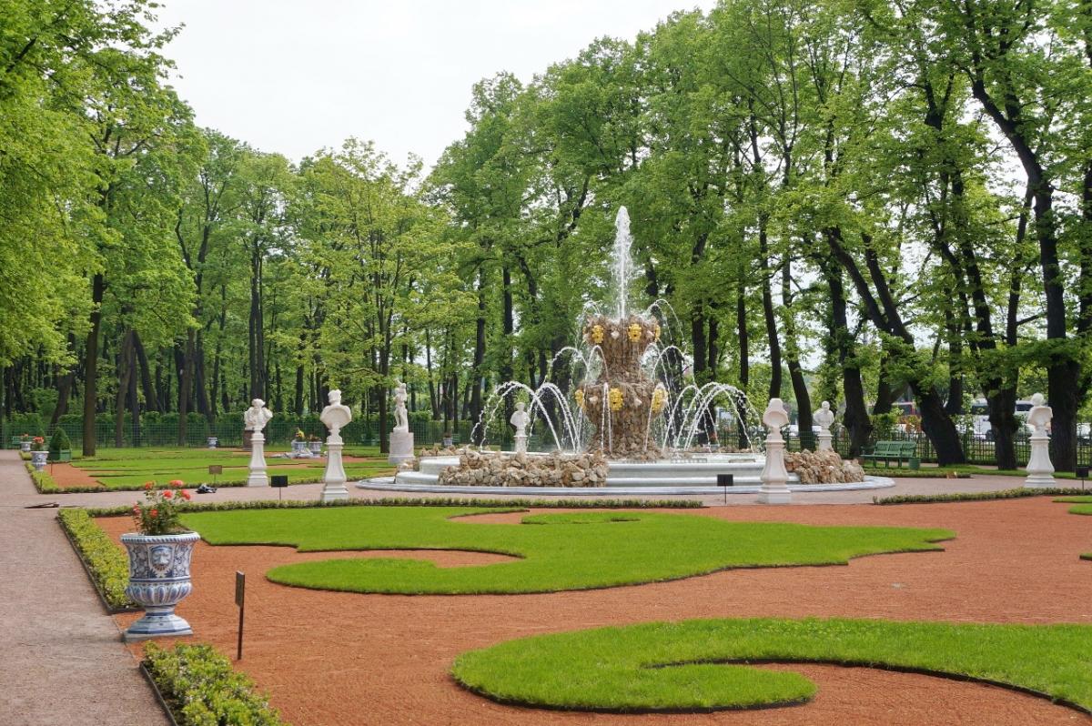 Eghn Summer Garden St Petersburg