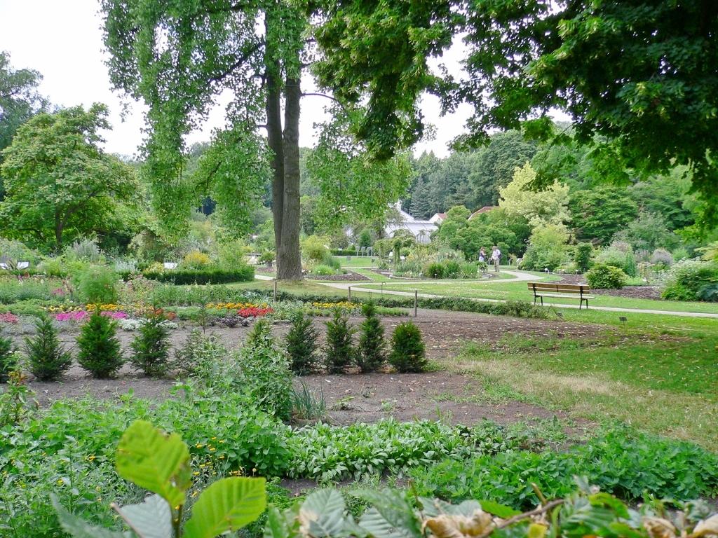 Eghn Botanischer Garten Und Schlossgarten Münster