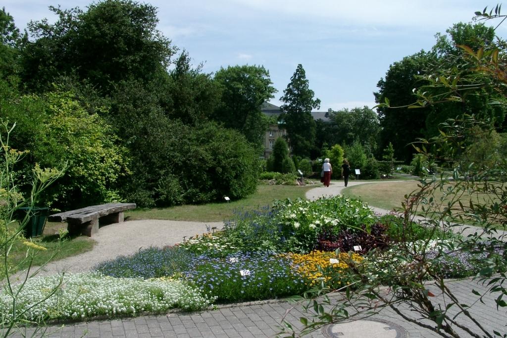 Garten Münster eghn botanical garden in münster