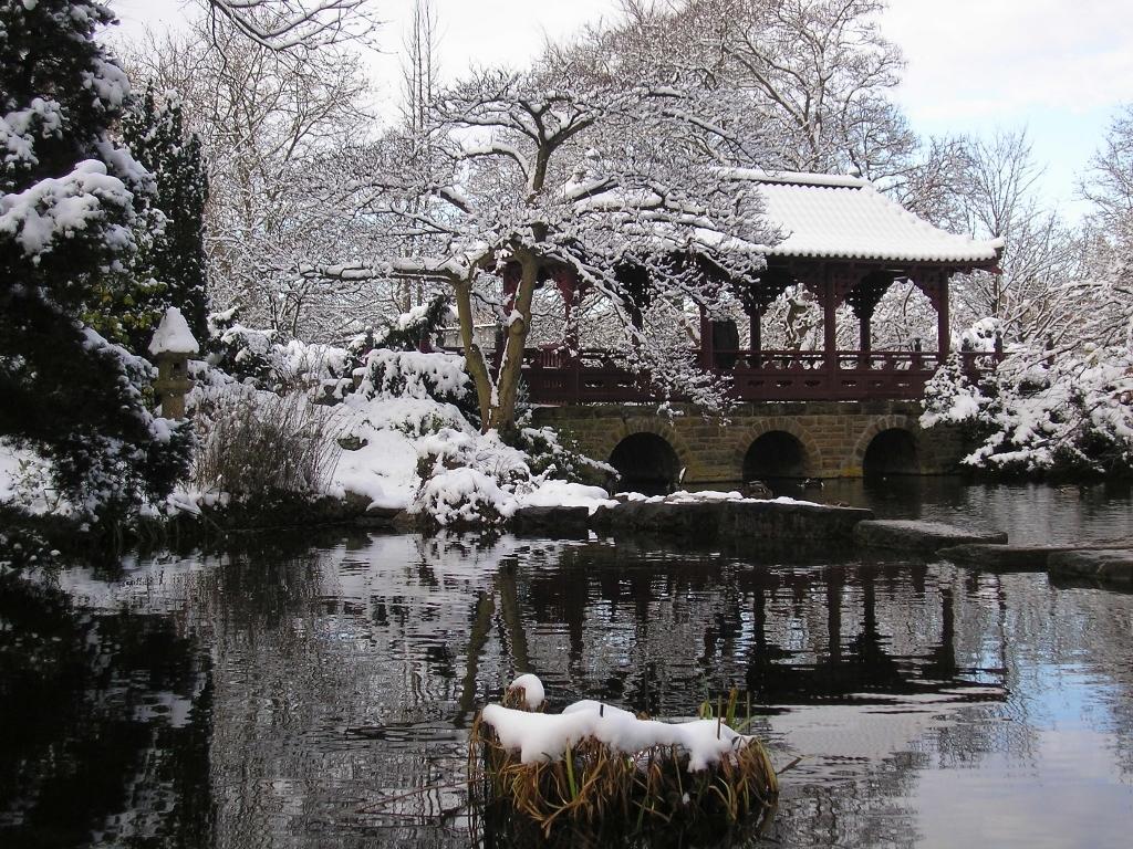Eghn Carl Duisberg Park Und Japanischer Garten