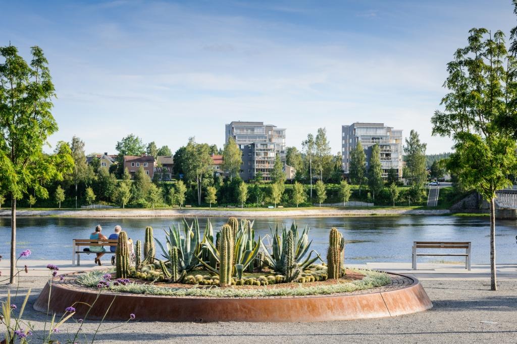 Skelleftea Park, Sweden - Designed by Ulf Nordfjell