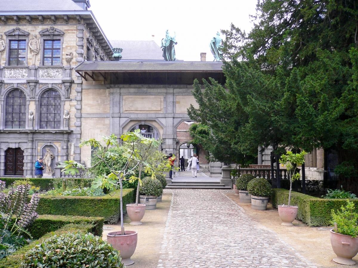 EGHN – Le Jardin du Musée Maison Rubens à Anvers