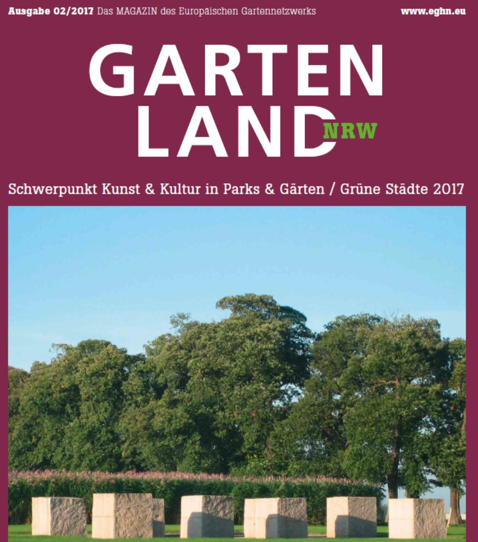 Garten Magazine eghn second eghn magazine published
