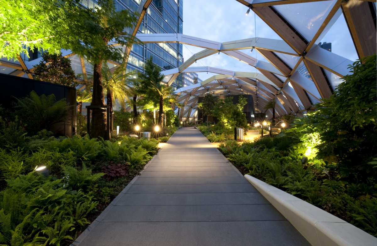Crossrail Place Roof Garden