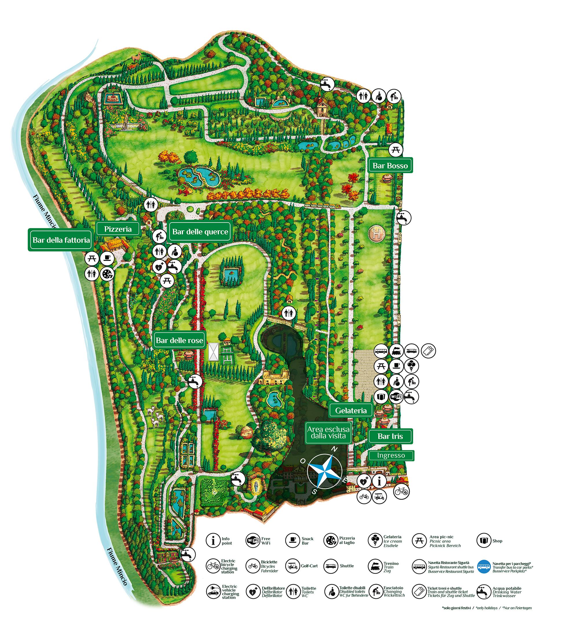 Car That Parks Itself: Parco Giardino Sigurtà